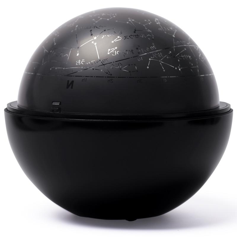 ケンコー ホームプラネタリウム スターサテライト Rブラック 家庭用プラネタリウム 星空 プレゼント 部屋 星座 北天 夜空 投影