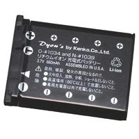 ケンコー デジタルカメラ用バッテリー N-#1039 ニコンEN-EL10対応 バッテリー デジカメ用バッテリー デジカメ用電池 電池