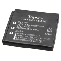 ケンコー デジタルカメラ用バッテリー F-#1043 フジフイルムNP-50対応 バッテリー デジカメ用バッテリー デジカメ用電池 電池