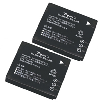 ケンコー デジタルカメラ用バッテリー 2個パック P-#1241 パナソニックDMW-BCE10対応 バッテリー デジカメ用バッテリー デジカメ用電池 電池