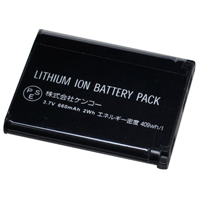 ケンコー デジタルカメラ用バッテリー K-#1051 カシオNP-80対応 バッテリー デジカメ用バッテリー デジカメ用電池 電池