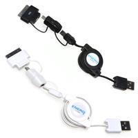ENERG USBケーブル EM-USB01 BK EM-USB01 WH KENKO