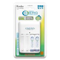 ENERG ニッケル水素充電池+充電器セット U-#301AS KENKO