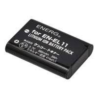 ENERGデジタルカメラ用バッテリー ニコンEN-EL11対応 N-#1091 ケンコー