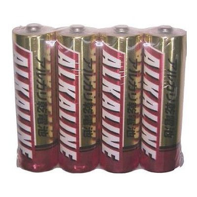 三菱 アルカリ乾電池 アルカリ電池 乾電池 単3 単三 LR6R/4S