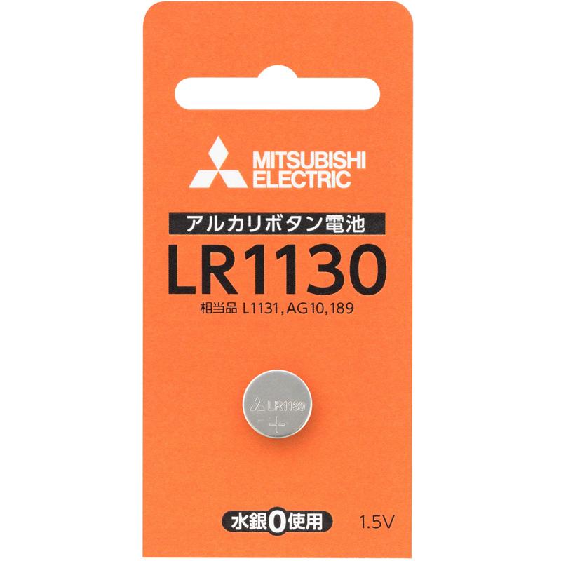アルカリボタン電池 アルカリ電池 ボタン電池 LR1130D/1BP