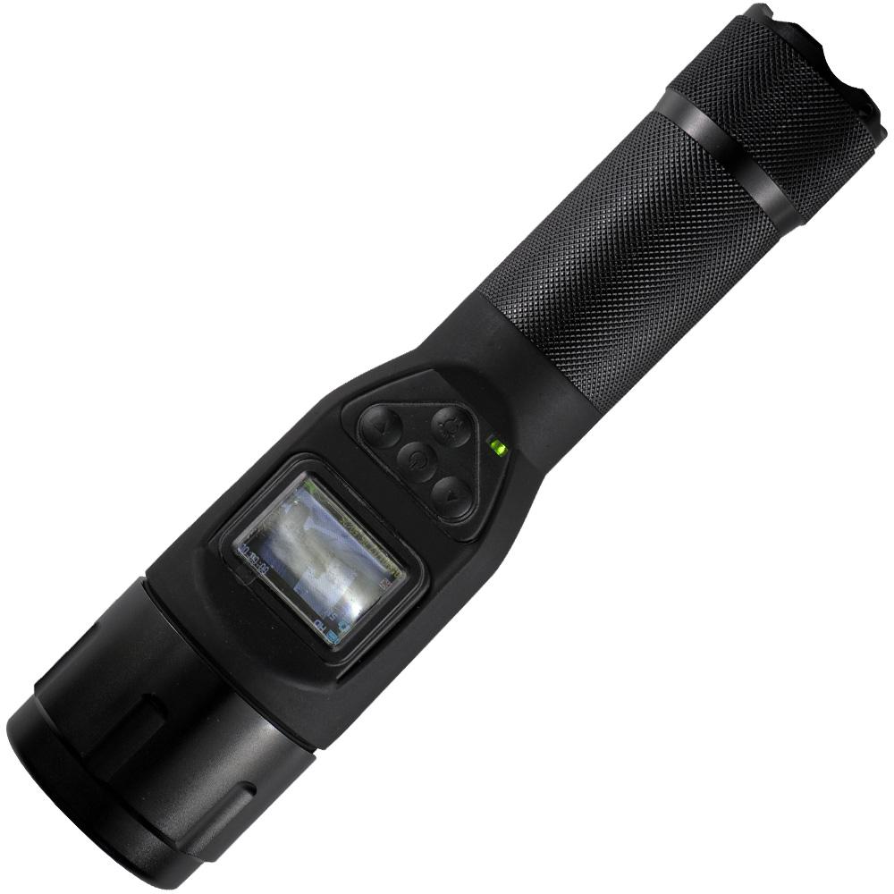 懐中電灯型 ビデオカメラ DVCT500 LEDライト付き 防水 防塵構造 防犯 警備 撮影 おすすめ 防災