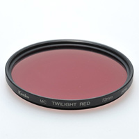 デジカメ用 フィルター 55S MC TWILIGHT [トワイライト] RED エンハンサーシリーズ ケンコー フィルター カメラ用フィルター カメラ用品