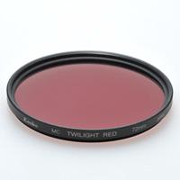デジカメ用 フィルター 77S MC TWILIGHT [トワイライト] RED エンハンサーシリーズ ケンコー フィルター カメラ用フィルター カメラ用品