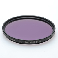 デジカメ用 フィルター 72S MC TWILIGHT [トワイライト] BLUE エンハンサーシリーズ ケンコー フィルター カメラ用フィルター カメラ用品