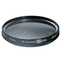 カメラ用 レンズ フィルター 58S R-サニークロス クロスフィルター KENKO ケンコー