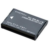 デジタルカメラ用バッテリーENERG(エネルグ)ニコンEN-EL19対応 N-#1083 835227