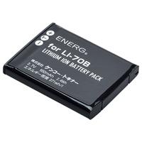 デジタルカメラ用バッテリーENERG(エネルグ)オリンパスLI-70B対応 O-#1087 835265