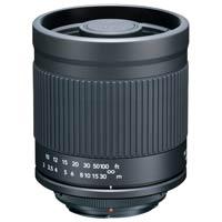 望遠ミラーレンズ 400mm F8 ニコン1用 フード付き ★ミラーレスカメラ用★ ケンコー