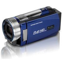 IR LEDライト フルハイビジョン デジタルムービーカメラ DVSA10FHDIR ケンコー KENKO ビデオカメラ 撮影 光学10倍ズーム 513万画素