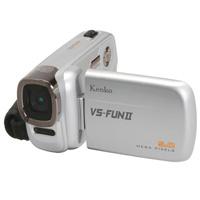 デジタルビデオカメラ VS-FUNII 508万画素 シルバー VS-FUN2 デジタルビデオカメラ VS-FUNII 508万画素 シルバー VS-FUN2 KENKO ケンコー