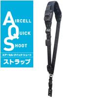 カメラストラップ エアーセル クイック シュート ストラップ AQS-70NS プロ用一眼レフ用 ケンコー 1台用 斜めがけ スマートフォン用ポケット付き KENKO