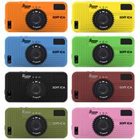 SOFT iCAケース for iPhone 5/5S GIZ-SICA ギズモン GIZMON iPhone5/iPhone5S対応 スマホ ケース カバー シリコン カメラ型