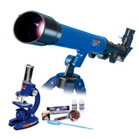 #2035 VALUE PACK 顕微鏡&天体望遠鏡 139029 EASTCOLIGHT 自由研究