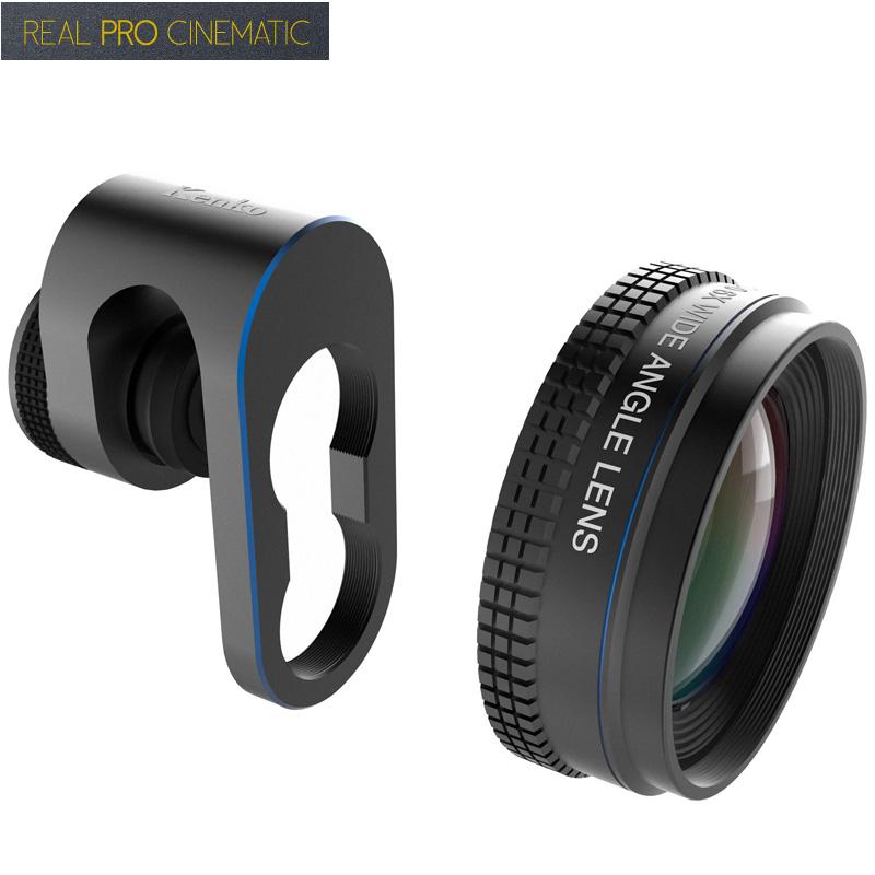 スマホ レンズ 広角 リアルプロ シネマティック4K HD ワイド0.6倍 スマートフォン用コンバージョン レンズ 自撮り おすすめ 風景 動画撮影