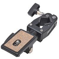 脚パイプにセット アクセサリー クランプヘッド45 209660 SLIK スリック クランプヘッド 三脚 カメラアクセサリー SLIK カメラ用品