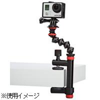 JOBY アクションクランプ&ゴリラポッドアーム BLACK/RED ケンコー アクションカメラ用 三脚 スタンド アーム KENKO