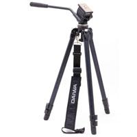 ダイワ VT-551 N HDV/DV対応三脚 ビデオカメラ用 三脚 雲台 ビデオ用 ビデオカメラ ハンディカム 軽量一眼 動画 ムービー