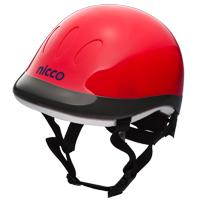 ヘルメット 子供用 nicco 自転車 ヘルメット レッド 49〜54cm nicco Kids 幼稚園年少〜年長 保護 SGマーク認定商品 防災