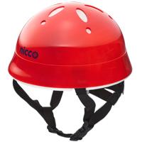 ヘルメット 子供用 nicco 自転車 ヘルメット レッド 46〜50cm nicco Baby 12ヶ月〜2才位まで 子供用 保護 SGマーク認定商品 防災