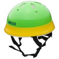 ヘルメット 子供用 nicco 自転車 ヘルメット イエローグリーン 46〜50cm nicco Baby 12ヶ月〜2才位まで 子供用 保護 SGマーク認定商品 防災