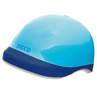 ヘルメット 子供用 nicco 自転車 nicco Junior ヘルメット スカイブルー 52〜56cm 小学生 子供用 保護 SGマーク認定商品 防災