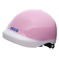 ヘルメット 子供用 nicco 自転車 nicco Junior ヘルメット ピンク 52〜56cm 小学生 子供用 保護 SGマーク認定商品 防災