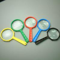 虫めがね 虫眼鏡 ファンシールーペ LF-50 3.5倍 50mm 拡大鏡 [手持ちルーペ 虫眼鏡 虫めがね 天眼鏡] 学習用 定番 池田レンズ