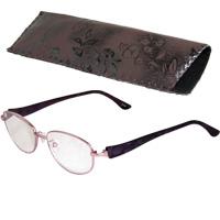 老眼鏡 ネオシニア 609PU パープル リーディンググラス シニアグラス 男性 女性 弱度