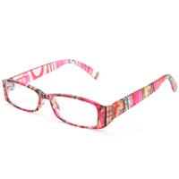リーディンググラス 老眼鏡 [シニアグラス] 専用ケース付き RP399 マルチピンク カラフル 女性 おしゃれ