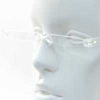 【メーカー在庫限り】 ヘルパー スーパーライト コンパクト 軽量 シニアグラス [老眼鏡] 専用ケース入り グッドデザイン賞受賞 ギネス認定