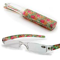 虫眼鏡 老眼鏡 シニアグラス 専用ケース付き リーディングルーペ