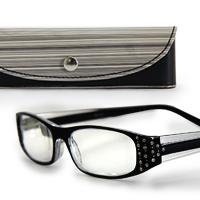 老眼鏡 シニアグラス 老眼鏡 SG-05BK 専用ケース付き リーディンググラス [ブラック] 男性 女性 おしゃれ