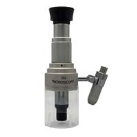 ライト付き マイクロスコープ 100倍 スタンド 顕微鏡 印刷 色校正 宝石 検品 花粉 植物 観察 池田レンズ