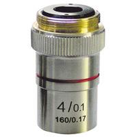 対物レンズ 4X ミザールテック 対物レンズ 顕微鏡 観察 拡大 実験