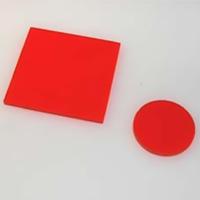 HOYA製 光学フィルター シャープカットフィルター 橙色 O-58 50X50 t=2.5 光学ガラスフィルター [エヌエスライティング]
