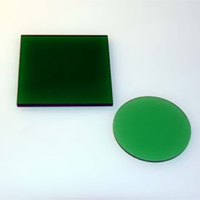 HOYA製 光学フィルター 緑フィルター G-530 50X50 t=2.5 光学ガラスフィルター [エヌエスライティング]