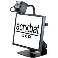 据え置き型拡大読書器 Acrobat LCD [アクロバットLCD] 大画面19インチ 最大68倍ズーム 読書 アクロバットLCD 置き型拡大読書器