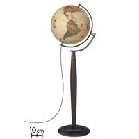 地球儀 インテリア アンティーク マルコポーロ37 フロアスタンド 和文 行政図 球径37cm