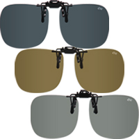 偏光サングラス クリップサングラス BV-23 エロイコ 偏光グラス ゴルフ UV カット 跳ね上げ メガネの上からサングラス