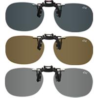 偏光サングラス クリップサングラス BV-27 エロイコ 偏光グラス ゴルフ UV カット 跳ね上げ メガネの上からサングラス