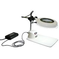LED照明拡大鏡 LSK-B ワイド型 調光付 2倍 オーツカ 拡大鏡 LED照明拡大鏡 検査 ルーペ 拡大 精密検査