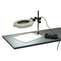 LED照明拡大鏡 ワイド型 調光なし LSKs-B 3倍 オーツカ 拡大鏡 LED照明拡大鏡 検査 ルーペ 拡大 精密検査 作業