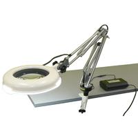 LED照明拡大鏡 ワイド型 調光なし LSKs-CF 2倍 オーツカ 拡大鏡 LED照明拡大鏡 検査 ルーペ 拡大 精密検査 作業