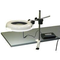 LED照明拡大鏡 ワイド型 調光なし LSKs-ST 4倍 オーツカ 拡大鏡 LED照明拡大鏡 検査 ルーペ 拡大 精密検査 精密作業